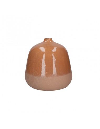 Vaso anfora decorativa ceramica terra di siena h 25 cm - FRIDA by Rituali Domestici