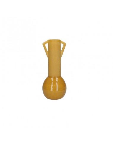 Anfora decorativa ceramica ocra h 26,5 cm - FRIDA by Rituali Domestici