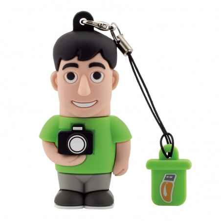 Pendrive Fotografo Uomo 8 Gb - by PROFESSIONAL USB