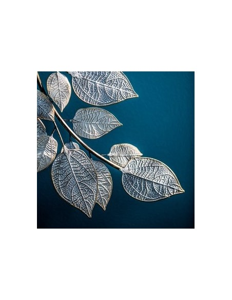 Decorazione da parete foglie in metallo L 91 cm - FOGLIAMO M by Rituali Domestici