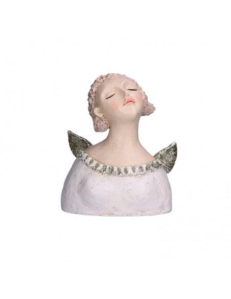 Busto di angelo in resina h 27 cm - GRETA by Rituali Domestici