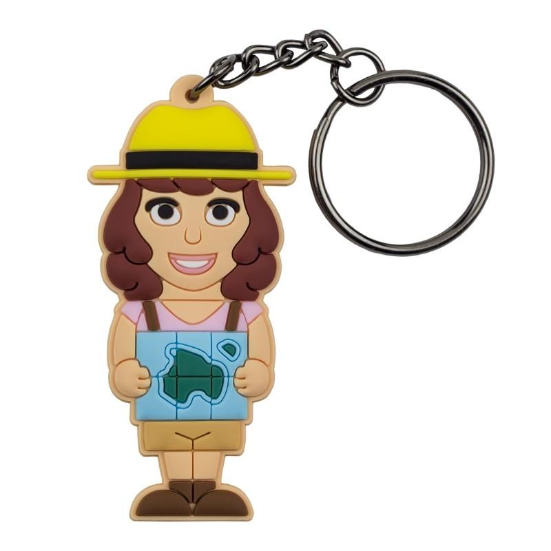 Portachiavi Viaggiatrice Donna - Wannabe by PROFESSIONAL USB