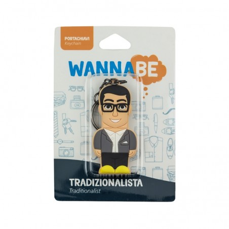 Portachiavi Uomo Tradizionalista - Wannabe by PROFESSIONAL USB