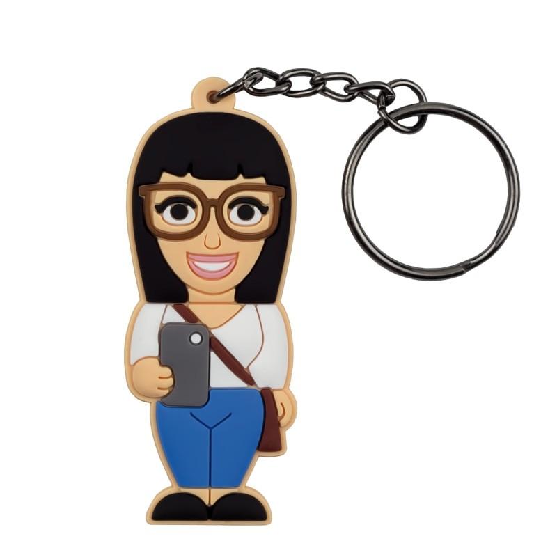 Portachiavi Donna Socializer - Wannabe by PROFESSIONAL USB