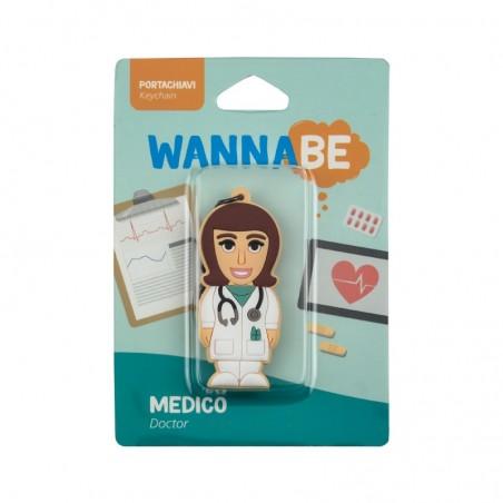 Portachiavi Medico Donna - WANNABE BY PROFESSIONAL USB