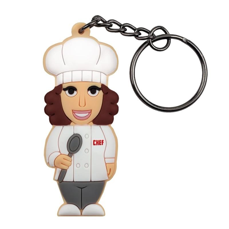 Portachiavi Cuoco Donna - Wannabe by PROFESSIONAL USB