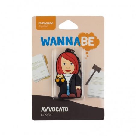 Portachiavi Avvocato Donna - Wannabe by PROFESSIONAL USB