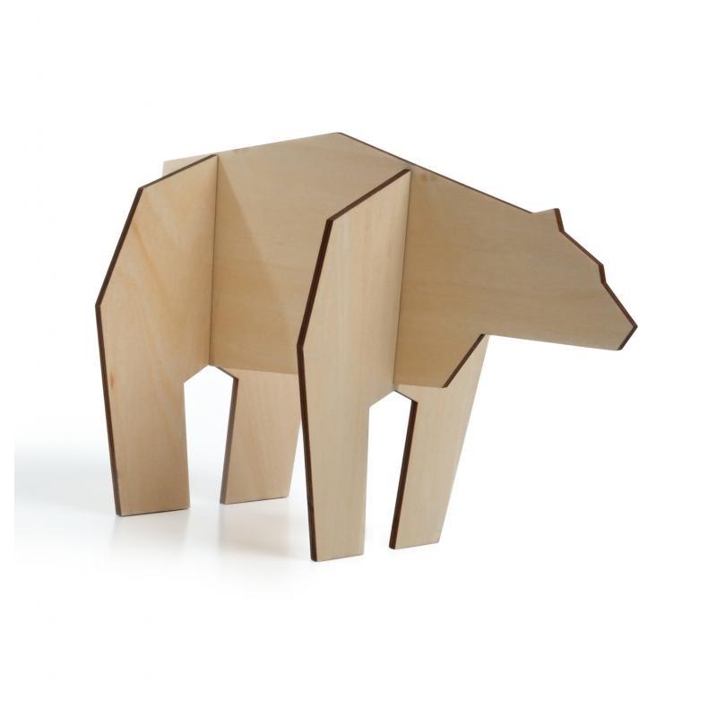 Decorazione figura di orso 2 varianti dimensione - NORDIC  BEAR by ATELIER PIERRE