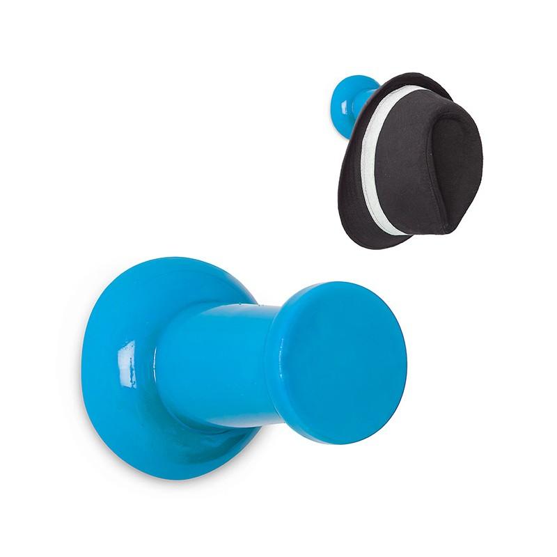 Gancio Appendiabiti da parete colore azzurro - PIN IT  di Balvi