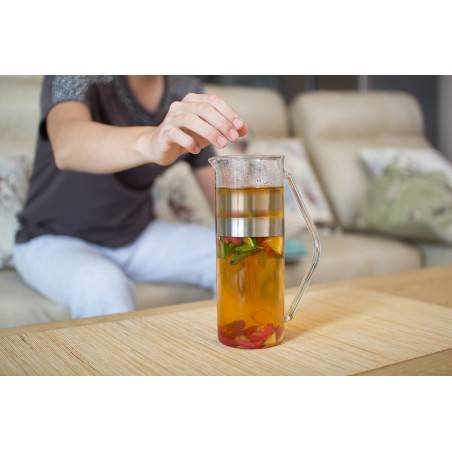 Infusore per il tè con caraffa T-RING by Simple Lab
