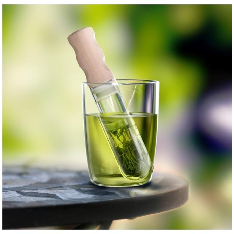 Infusore per il tè in vetro e legno - ELIXIR by SIMPLE LAB