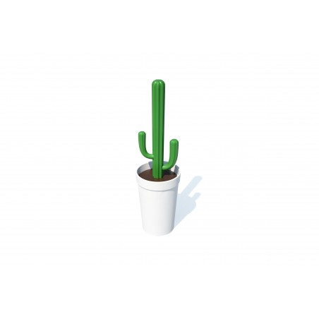 Spazzola per wc cactus 2 alternative colore - CACBRUSH by QUALY DESIGN