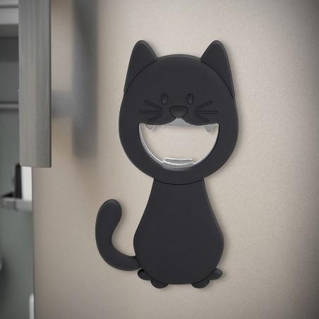Apribottiglie magnetico gatto nero- KATY di Balvi