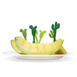 Spiedini da aperitivo - CACTUS PICKS by QUALY DESIGN