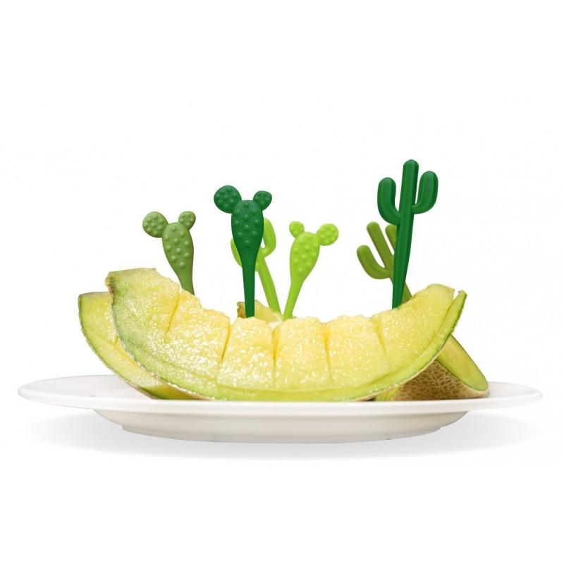 Spiedini da aperitivo - CACTUS PICKS by QUALY DESIGN
