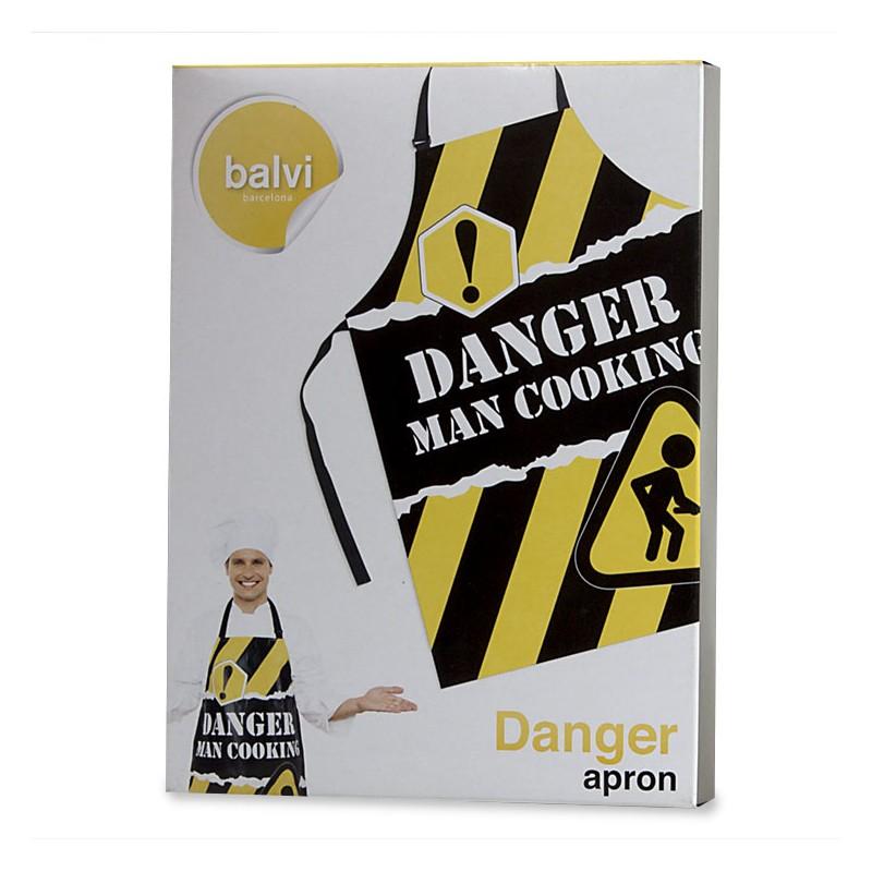 Grembiule Da Cucina Uomo.Grembiule Da Cucina Per Uomo Danger By Balvi