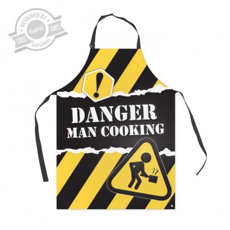 Grembiule da cucina per uomo - DANGER by BALVI