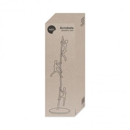 Porta bijoux in ferro con figure di acrobati - ACROBATS by BALVI