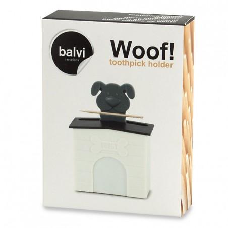 Portastuzzicadenti dispenser cagnolino con cuccia - WOOF! by BALVI