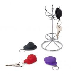 4 Portachiavi cappelli con supporto - CHAPEAU! by BALVI