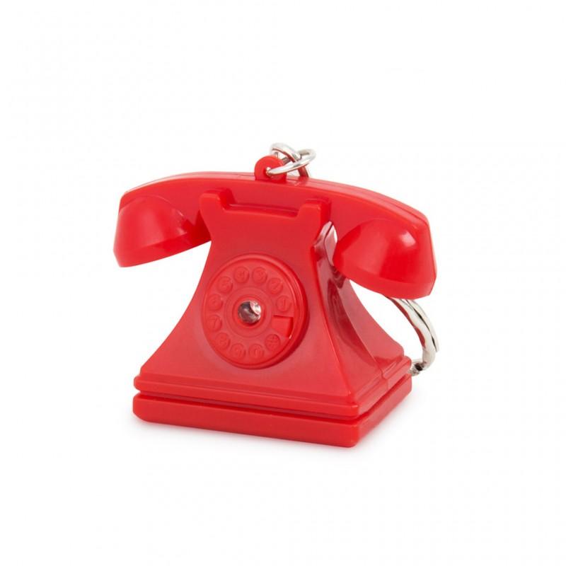 Portachiavi sonoro trova chiavi rosso - RIING by BALVI