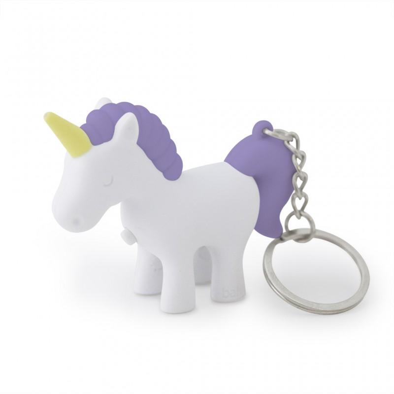 Portachiavi unicorno con effetto sonoro e luce led - UNICORN by BALVI