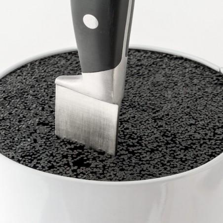 Ceppo portacoltelli forma di barattolo in metallo - TOMATO by BALVI