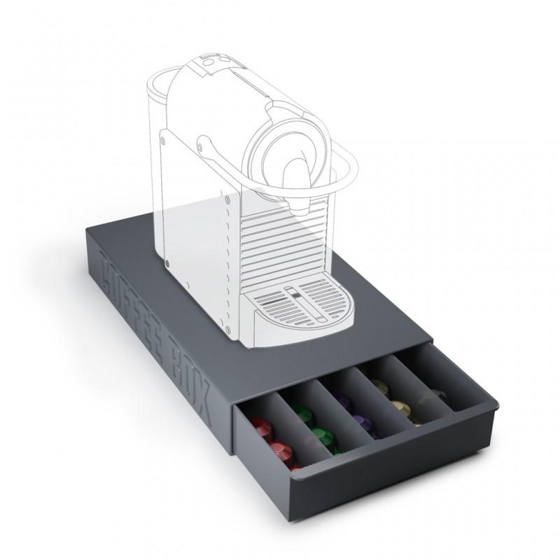 Contenitore per capsule di caffè - COFFEE BOX di Balvi