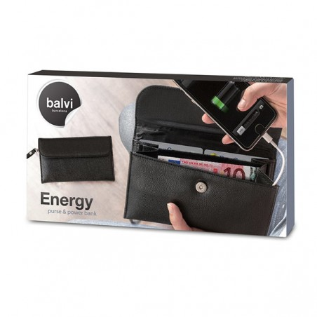 Portafogli e power bank per smartphone - ENERGY by BALVI