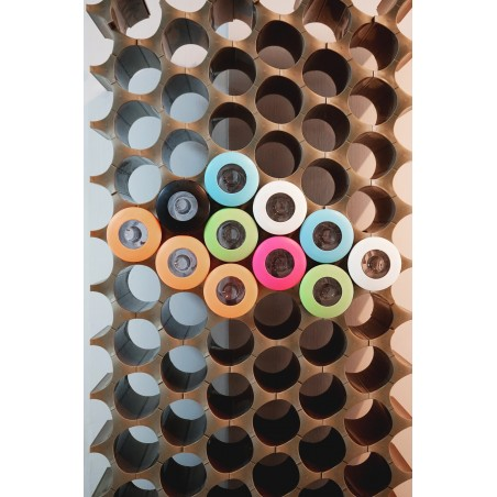 Contenitore ermetico medium coperchio verde o nero - STORAGE JAR by QUALY