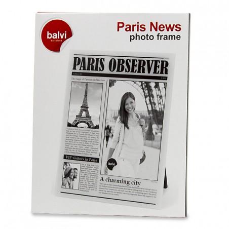 Portafoto come una copertina di giornale - PARIS OBSERVER by BALVI