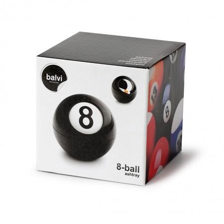 Posacenere da tavolo a forma di palla da biliardo -  8-BALL by BALVI