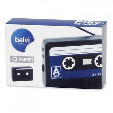 Radio magnetica a forma di cassetta musicale - RADIO PLAY by BALVI