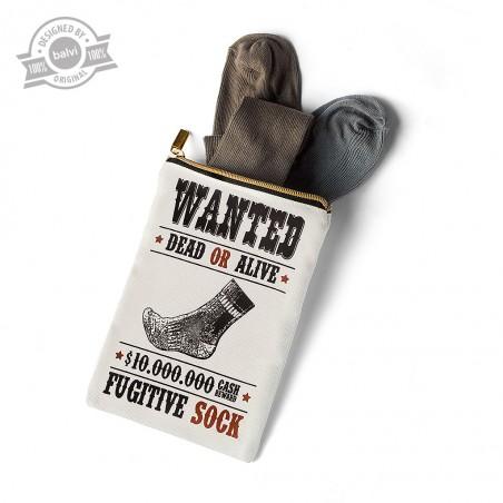 Sacchetto calzini perduti in cotone - WANTED by BALVI