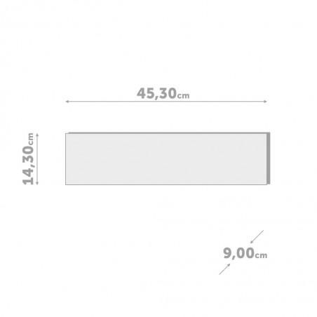 Portafoto mensola con portachiavi magnetici - SHELFIE  by BALVI