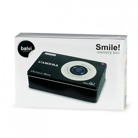 Scatola dei ricordi in metallo - SMILE by BALVI
