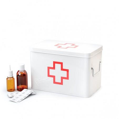 Scatola per medicinali in metallo M - PRONTO SOCCORSO by BALVI